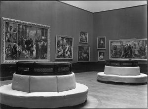 Hanging by Glück, Gallery I, Picture Gallery, Kunsthistorisches Museum, photograph from 1913, copyright: KHM-Museumsverband.